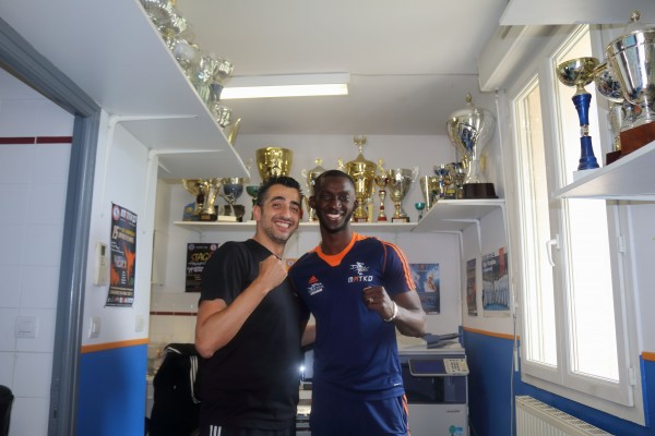 Karim Bellhaceneb et Ismael Coulibaly. Credits photos: Georges Attino Coulibaly