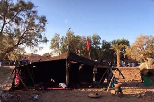 Article : La tente, le domicile fixe du nomade